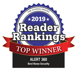 "Alert 360 Home Security was chosen as the top winner for ""Best Home Security Provider"""