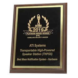 ATI SYSTEMS 2019 ASTORS AWARD FOR THPSS