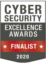 Cybersecurity Excellence Awards finalist award badge