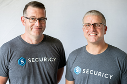 Securicy Co-Founders - CEO Darren Gallop and COO Laird Wilton