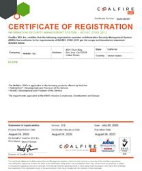 Netkiller ISO 27001 Certificate
