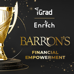 Barron's Honors iGrad/Enrich for Financial Empowerment