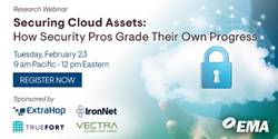 """""""Securing Cloud Assets: How Security Pros Grade Their Own Progress"""" webinar"""